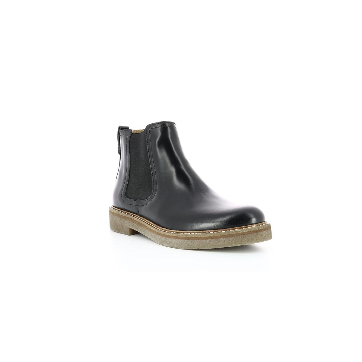 Kickers Chaussures Noir Oxfordchic Femme Chaussures Femme YXwndPqd