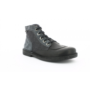 Kickers LEGENDIKNEW BLACK GREY SMU
