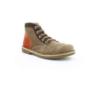 Kickers LEGENDOKNEW MARRON CLR MARRON ORANGE