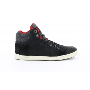 Kickers CRAFFITI NEGRO