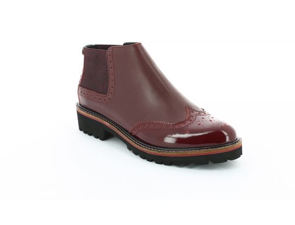 Kickers RUSKY BORDEAUX