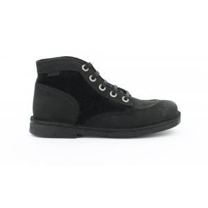 Kickers LEGENDIKNEW FLAT BLACK