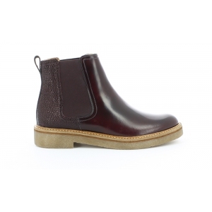 Kickers OXFORDCHIC BURGUNDY GRAINED