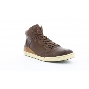 Kickers CROSSOVER MARRON FONCE