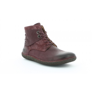 Kickers HOBYLOW BORDEAUX BRILLANT