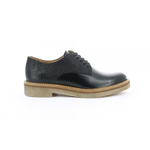 Kickers OXFORK BLACK GRAINED
