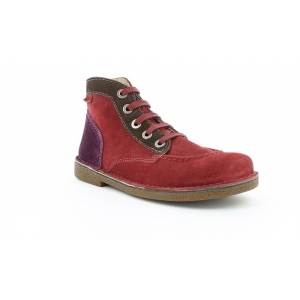 Kickers LEGENDOKNEW BORDEAUX MARRON FC VIOLET
