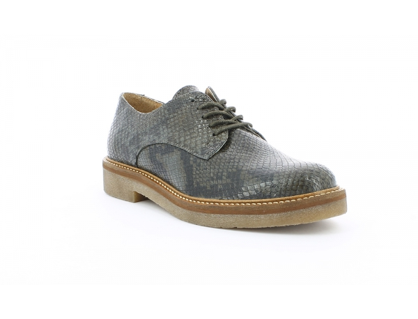Kickers Chaussures Oxfork Gris Python Kickers soldes WK6PDbG4