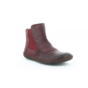 Kickers HAPPLI SHINY BURGUNDY