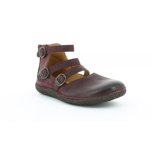 Kickers HONORINE SHINY BURGUNDY