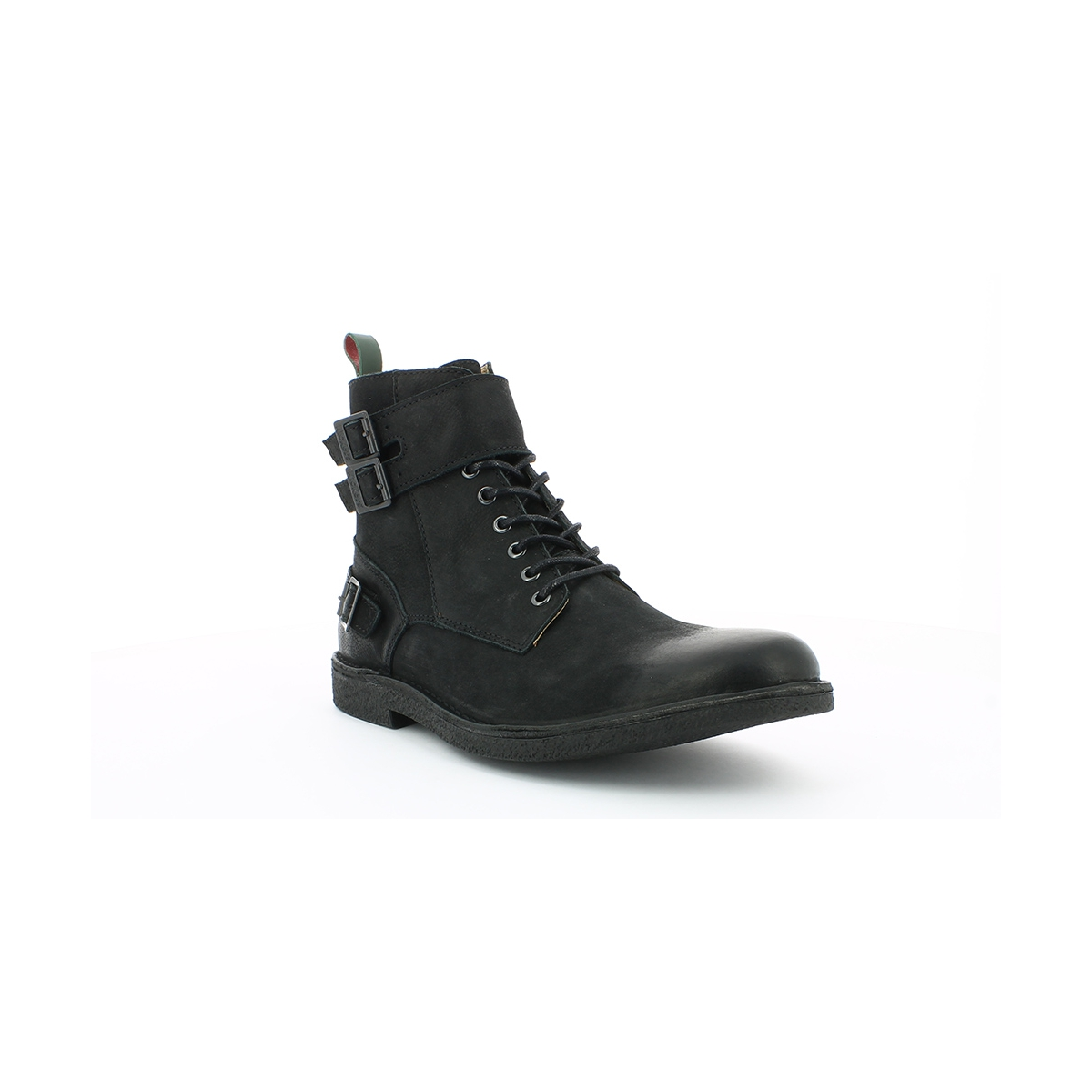 kickers mist rack noir boots et bottines homme kickers officiel. Black Bedroom Furniture Sets. Home Design Ideas
