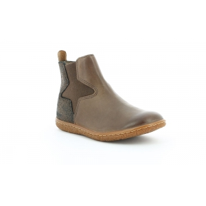 Kickers VERMILLON BROWN