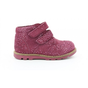 Kickers NONOCOOL BORDEAUX METALLIQUE