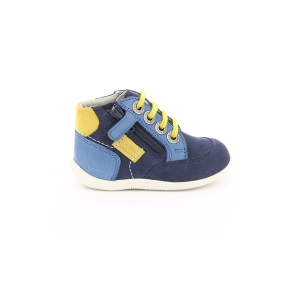 Kickers BARTIN NAVY BLUE GREEN