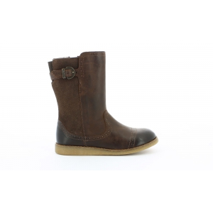Kickers FLAMME MARRON