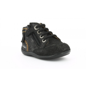 Kickers BAYAA BLACK METALLIC