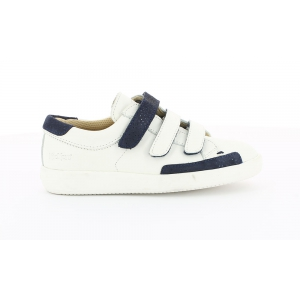 Kickers HASTAN BLANC BLEU METALIQUE