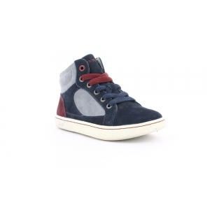 Kickers LYNX NAVY BURGUNDY