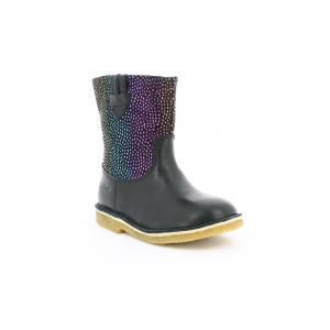 Kickers CRESSONA BLACK RAINBOW