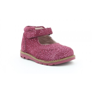 Kickers NONOBABIES BORDEAUX METALLIQUE
