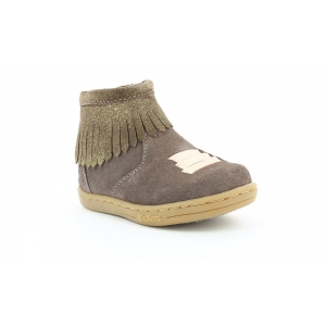 Kickers TABATA LIGHT BROWN