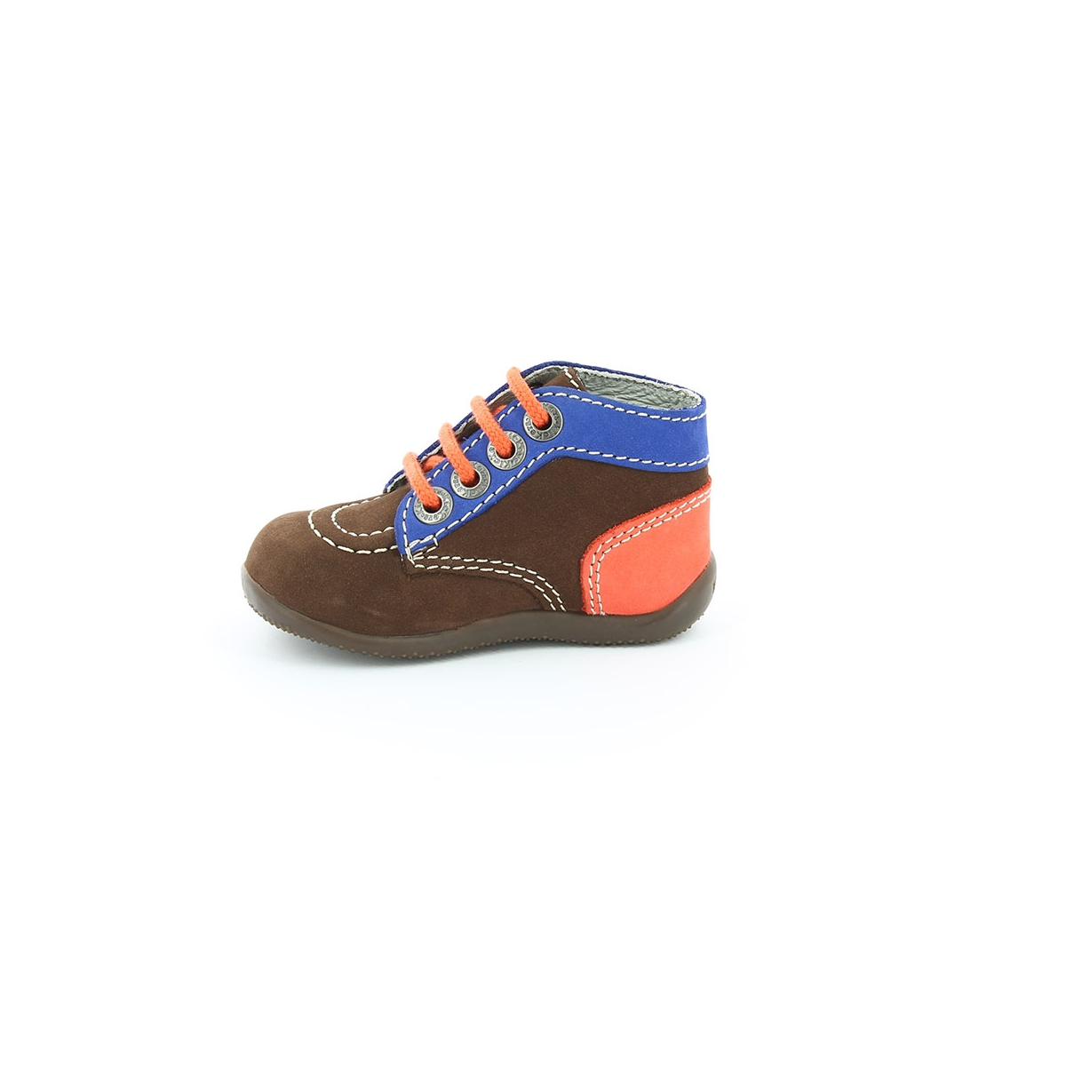 kickers bonbon marron fonce bleu orange bottillons b b kickers officiel. Black Bedroom Furniture Sets. Home Design Ideas