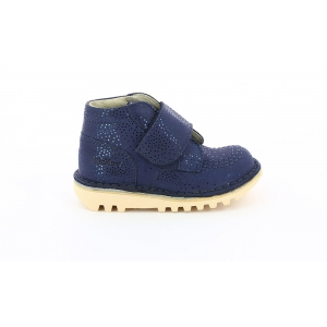 Kickers NEOKRAFTY NAVY METAL LIC