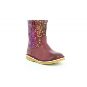 Kickers CRESSONA BORDEAUX ARC EN CIEL