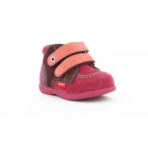 Kickers BABYSCRATCH FUSCHIA MAUVE