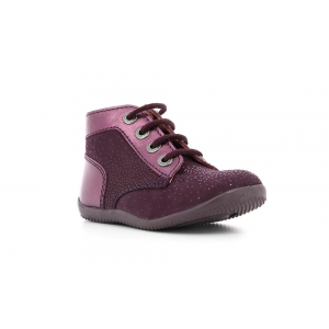 Kickers BONBON PURPLE DARK METALLIC