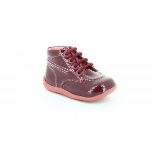 Kickers BILLISTA ROSE FONCE VERNIS