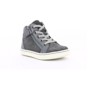 Kickers LYLUBY GREY METALLIC