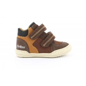 Kickers JORDIE DARK BROWN