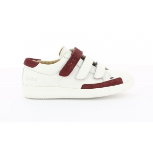 Kickers HASTAN BLANC BORDEAUX