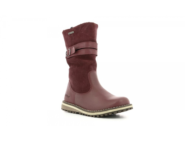 Kickers WINTERBOOT WPF BURGUNDY