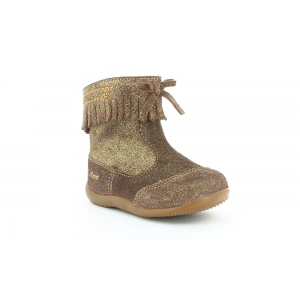 Kickers BAKO MARRON METALLIQUE