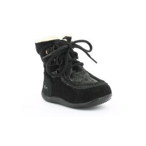 Kickers BAMARA NOIR METALLIQUE