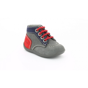Kickers BONBON GREY DARK NAVY RED