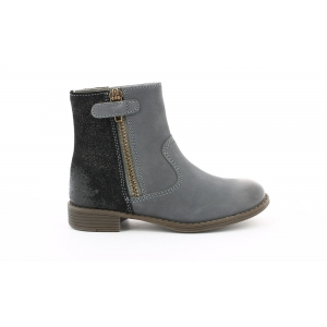 Kickers ROX GRIS OSCURO PAILLETTE