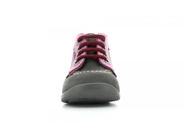 BONBON GREY DARK PINK