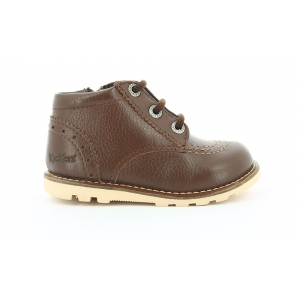 Kickers NONORALLYE MARRON