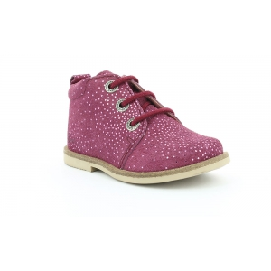 Kickers MOHAN DARK PINK METALLIC