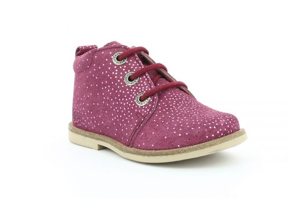 Kickers MOHAN ROSE FONCE METALLIQUE
