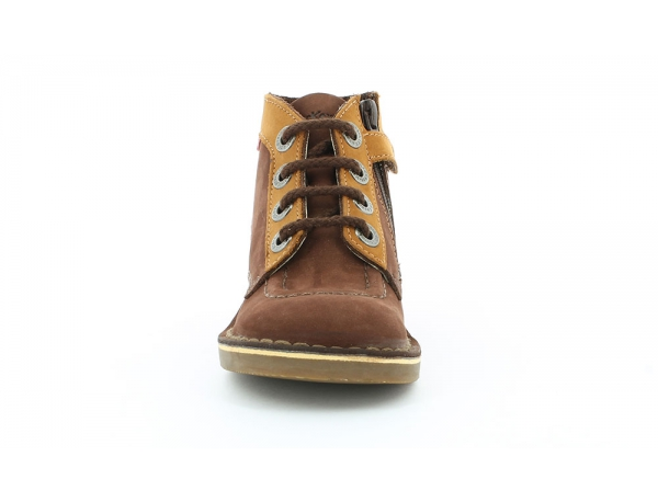 KICK COLZ MARRON CAMEL BORDEAUX