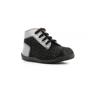 Kickers BONBON BLACK METALLIC