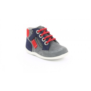 Kickers BARTIN GREY NAVY RED