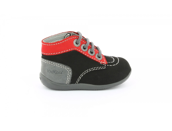 BONBON BLACK RED GREY