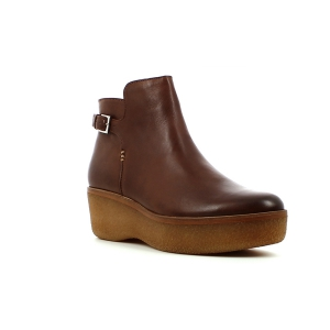 Kickers PLUM BROWN