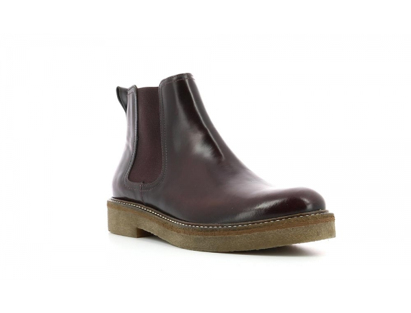 Kickers OXFORDCHIC borgogna
