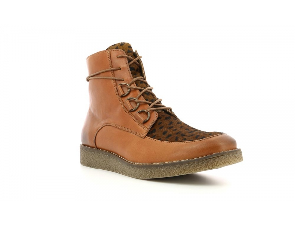 Kickers ZENHIT BROWN LIGHT DARK BROWN